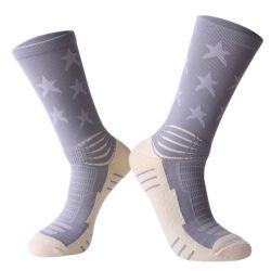 Elite баскетбол носки полотенце нижней части работает мужчин профессиональные Спортивные носки