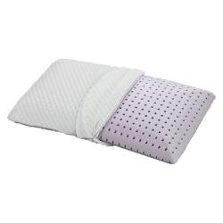 새로운 디자인 빨 수 있는 덮개는 라벤더 베개에 의하여 주입된 기억 장치 거품 베개를 냄새가 좋았다