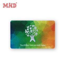 Custom печать пластиковую карту участника программы ПВХ подарочная карта