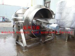 600L пара плита с заслонки смешения воздушных потоков и скребком