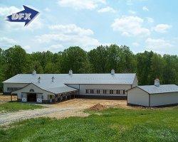 Projetar a estrutura de aço Personalizado Cavalariças /hangares/Abrigos/Barns