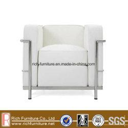 Modern Classic Office sofá de couro com estrutura de aço inoxidável (LC2)