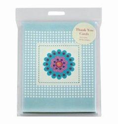 Lindo design flores cintilantes Obrigado Card para o Dia da Mãe