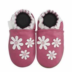 최신 패션 도매 소프트 가죽 유아용 신발