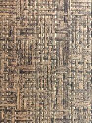 Papel de parede de relva natural Grass tecem Revestimentos de papel de parede de plantas coloridas para casa.