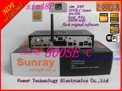 بطاقة حماية بطاقة A8p SIM 100% أصلية من Sunray 800HD Se جهاز توليف الكابل DVB-C Dreambox جهاز فك التشفير
