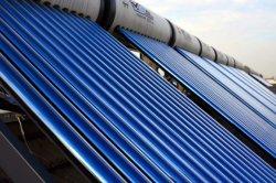 Progetto solare del riscaldamento ad acqua calda
