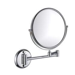 Elegante diseño Tabla descriptiva Espejo de aumento para el baño del hotel (WT-1308)