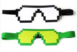 Frais de voyage dormir Eye Mask a estimé le couvercle de couchage Multicolor Pixel masque de sommeil