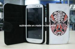 Cuoio di vibrazione di sublimazione per la cassa del telefono di Samsung9300 S3 (SC-S3)