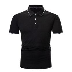قميص بولو مصنوع من القطن الأنيق للطباعة من الرجال