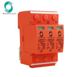 Ce DC 2p 500V 800V 1000V 3p 1000V 20-40ка молнии питания сетевой фильтр защиты ограничитель скачков напряжения защитный клапан устройства SPD