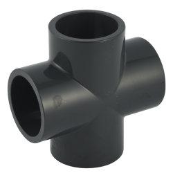 Pn16 из ПВХ трубы фитинг пластиковый креста тройник для водоснабжения