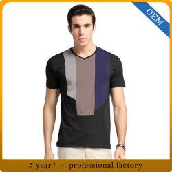 100% хлопок в горловину мужская Cool Tshirt конструкций