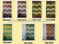 2014 Fashion дизайн пластиковые ткань листьев бамбука шторки