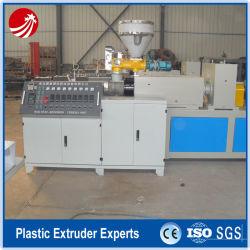 De plastic Uitdrijving die van Rioolbuizen UPVC Machine maken