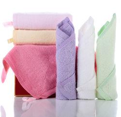 싼 매우 연약한 대나무 레이온 목욕 Washcloths 걸이를 가진 작은 대나무 손 세수 수건