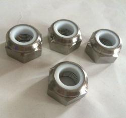 Титановый сплав самофиксирующийся нейлоновые шестигранной гайкой - DIN985 6Al4V, категория 5