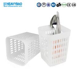 Caixa de lavar louça plástico Heavybao Talheres Cesta para faca dos garfos