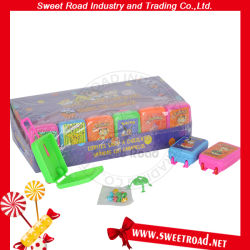 Het mini Stuk speelgoed van de Boomstam met de Banketbakkerij van de Kauwgom van het Suikergoed van het Stuk speelgoed van het Fluitje