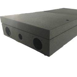 Revestimiento en polvo personalizada OEM cuadro eléctrico de la hoja de acero inoxidable fabricación de metal con precisión láser soldadura Servicio de corte y plegado