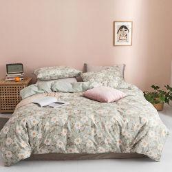 Consolador o algodão de alta qualidade em casa 4PCS Lençol extras definidos