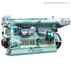 220 kw kw-600N6170/N8170 Series Baixo Consumo de Combustível Marine Motor Diesel Rebocadores/Petroleiros
