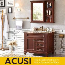 Nova chegada sólidos de madeira de carvalho americano casa de banho moderna arcas congeladoras (SCA1-W83)