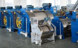 Grosse Trommel-Waschmaschine-horizontale Kleidung-Jeans-Wäscherei-Maschinerie-Unterlegscheibe, Kleidung, die Gerät wäscht