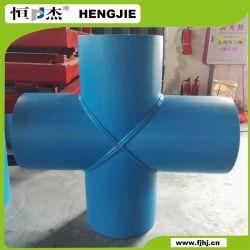 Conexão do tubo de HDPE de preço misto do tubo de 4 vias tubo T Montagem Cruz iguais
