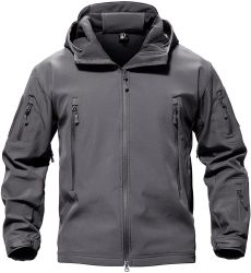 Resistente al agua de los hombres chaquetas de invierno de camuflaje táctico en el exterior de la Chaqueta forro polar Softshell