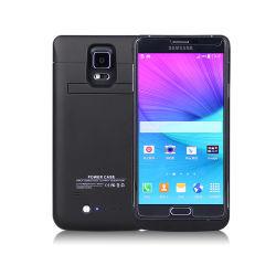 El caso Banco de potencia de 4000mAh Stand de copia de seguridad Soporte para Samsung Galaxy