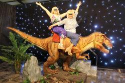 Costume meccanico del dinosauro del modello del dinosauro del parco a tema dell'elevatore di formato di Animatronic di simulazione del dinosauro del dinosauro giurassico del robot