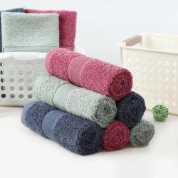 Luxus-Baumwollschaftmaschine-Rand-Hotel 100% u. BADEKURORT Bad-Tücher