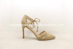 Hoge de manier hielt DwarsOntwerp Dame Leather Dress Shoe