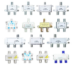 Спутниковое и кабельное ТВ разветвители/Satv разветвитель CATV/спутниковое телевидение разветвители/ разветвитель для установки внутри помещений/кабельного телевидения цифровой усилитель сигнала