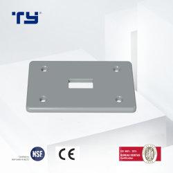 PVC-U Plaque simple CSA Fs (commutateur à bascule) pour l'isolation électrique (NEMA) Conduitsystem