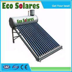acero inoxidable presurizado caloducto compacto de la Energía Solar colector solar calentador de agua solares de tubos de vacío piezas de repuesto de válvula de retención Válvula de seguridad