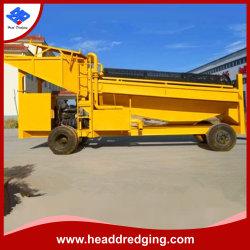 Máquinas de mineração de ouro aluvial/máquina de reciclagem de ouro /Gold máquina de lavar para venda