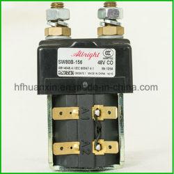 Олбрайт 48V 125А Spst однополюсный перекидной контактор постоянного тока модели sw80b-156 для нагрузок постоянного тока промышленных погрузчиков