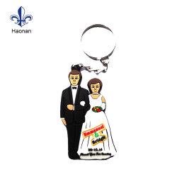 Venda a quente presente de promoção de PVC Personalizado Chaveiros Porta-chaves