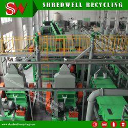 Le paillis de caoutchouc automatique usine utilisés/de recyclage de pneus de camion de déchets