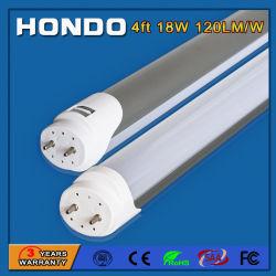 120lm/W Caixa de alumínio de alto brilho T8 Tubo de LED para substituição tecto luminária de luz da grelha