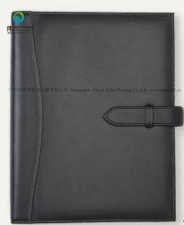 Het nieuwe Stationaire Notitieboekje van de Dekking van het Leer van de Agenda Pu van het Dagboek van de Gift van de Douane A5