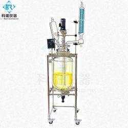 Chemische Hoge druk die de Beklede Reactoren van het Glas mengen