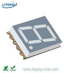 경험 많은 0.51인치 단일 숫자 7 세그먼트 SMD LED 디스플레이 중국 공급업체