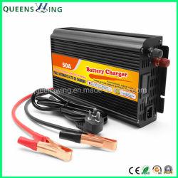 12V 50Aの鉛酸の自動車の蓄電池の充電器(QW-50A)
