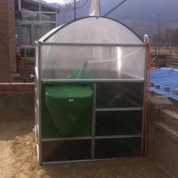 Biogas-Pflanzenanaerobischer Digestor, der organischen Abfall in Energie konvertiert