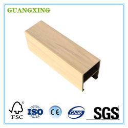 لون جديدة صنع وفقا لطلب الزّبون خشبيّة بلاستيكيّة مركّب سقف لأنّ الزخرفة بينيّة