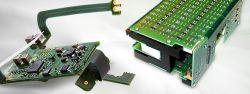 PCB Rigid-Flex personnalisé carte de circuit imprimé flexible rigide FR4-Matériau de polyimide